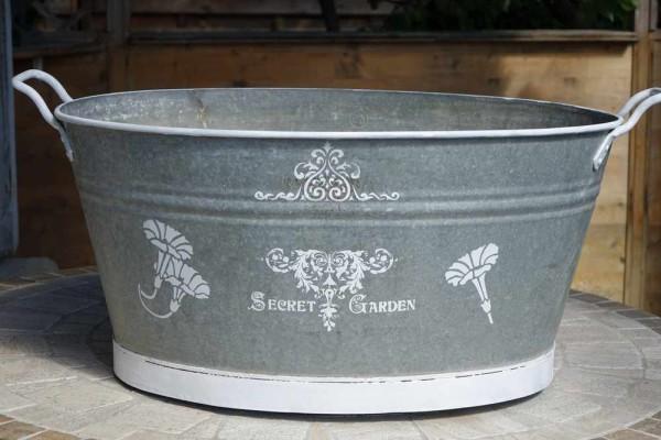 Zuber-Zinkwanne 65 Liter