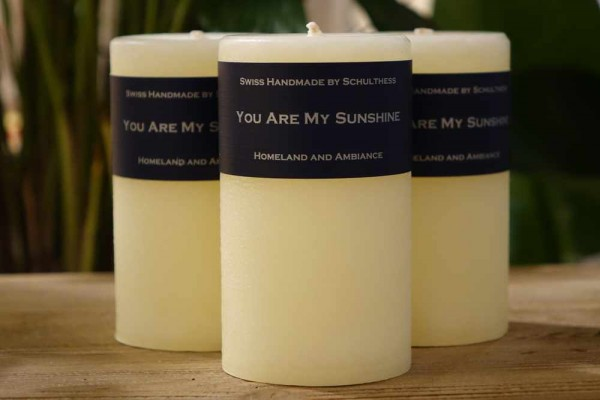 You are my sunshine - Duftkerze - Schulthess