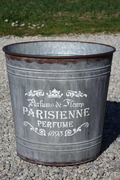 Blechkübel Parisienne