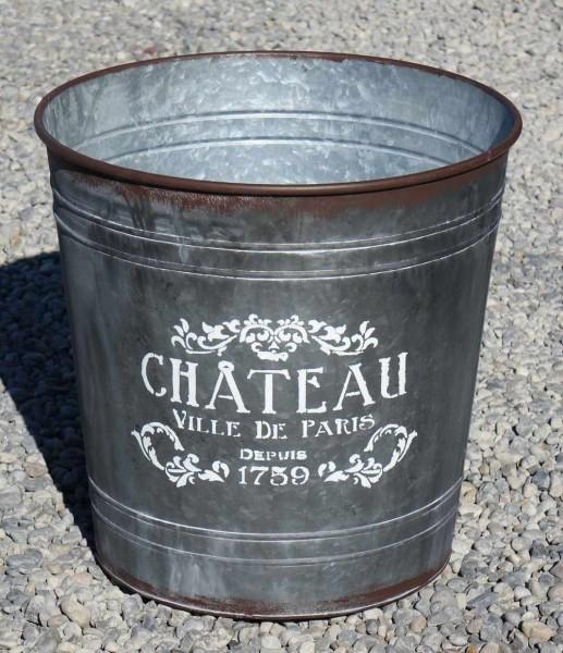 Blechkübel Chateau